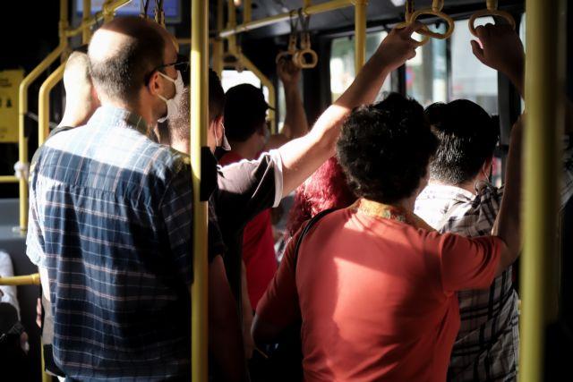 Μόνιμος επιβάτης σε Μετρό και λεωφορεία ο… συνωστισμός