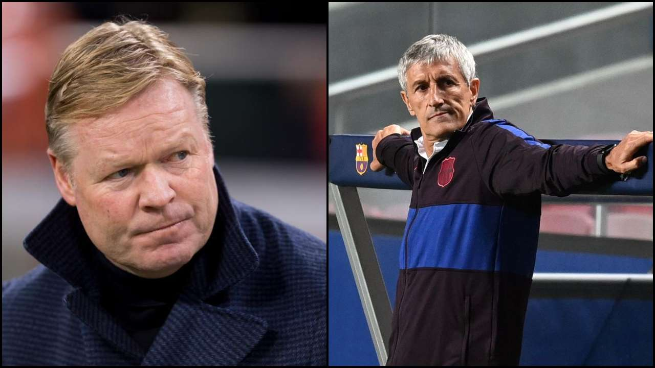 After sacking Quique Setien for club's 8-2 loss against Bayern, Barcelona appoint Ronald Koeman as head coach