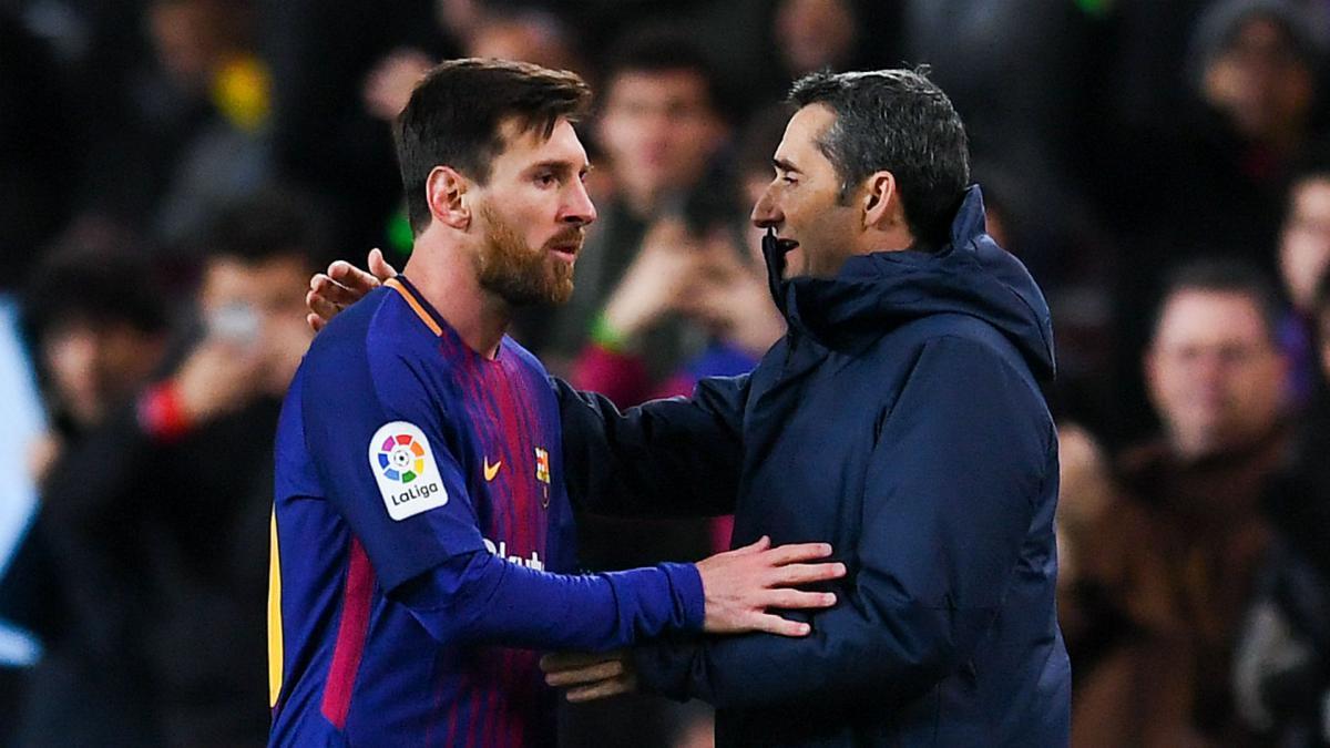 Valverde defends Messi rotation - AS.com