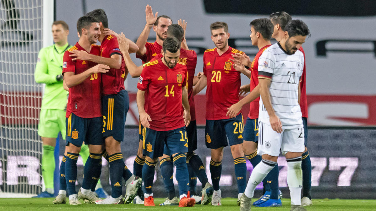 Spain vs. Germany score: Ferran Torres hat-trick fuels historic 6-0 Nations League thrashing - CBSSports.com