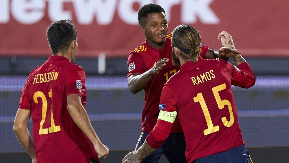 Ramos meets twice - Ansu Fati for the history books - Soccer Score