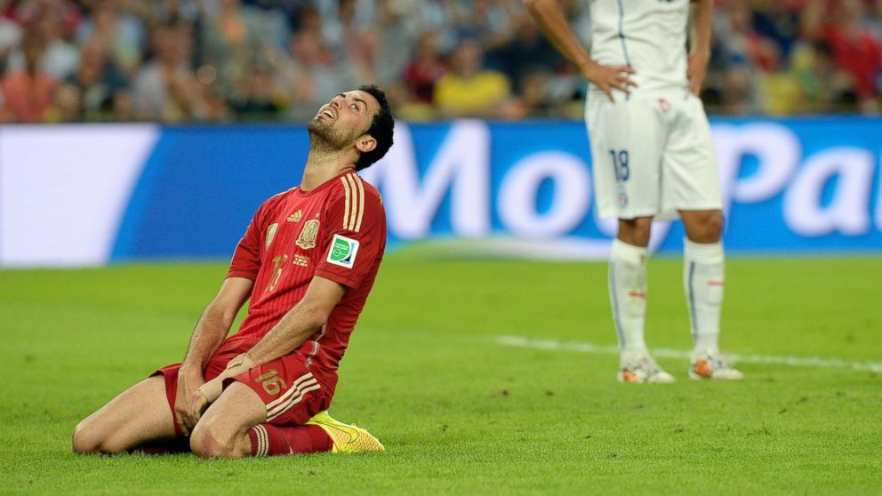 Adios, Spain: Defending Champion Eliminated From World Cup - ABC News