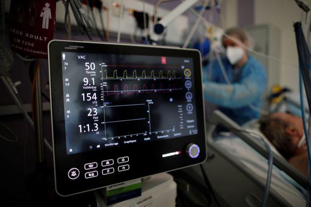 Γαλλία : Σε υψηλό 14 εβδομάδων οι νοσηλείες ασθενών με κορονοϊό στις ΜΕΘ