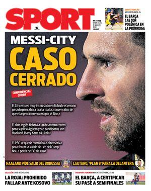 Messi - City, caso cerrado