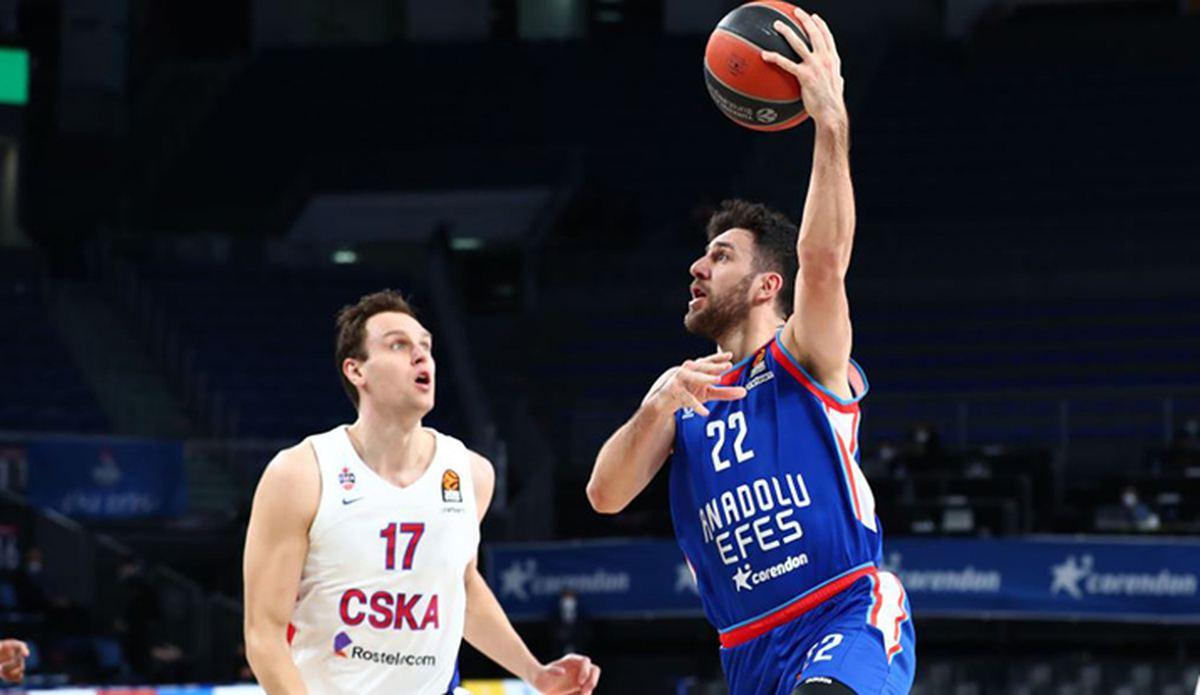 ÖZET   Anadolu Efes-CSKA Moskova maç sonucu: 100-70 - Euroleague Haberleri - Basketbol