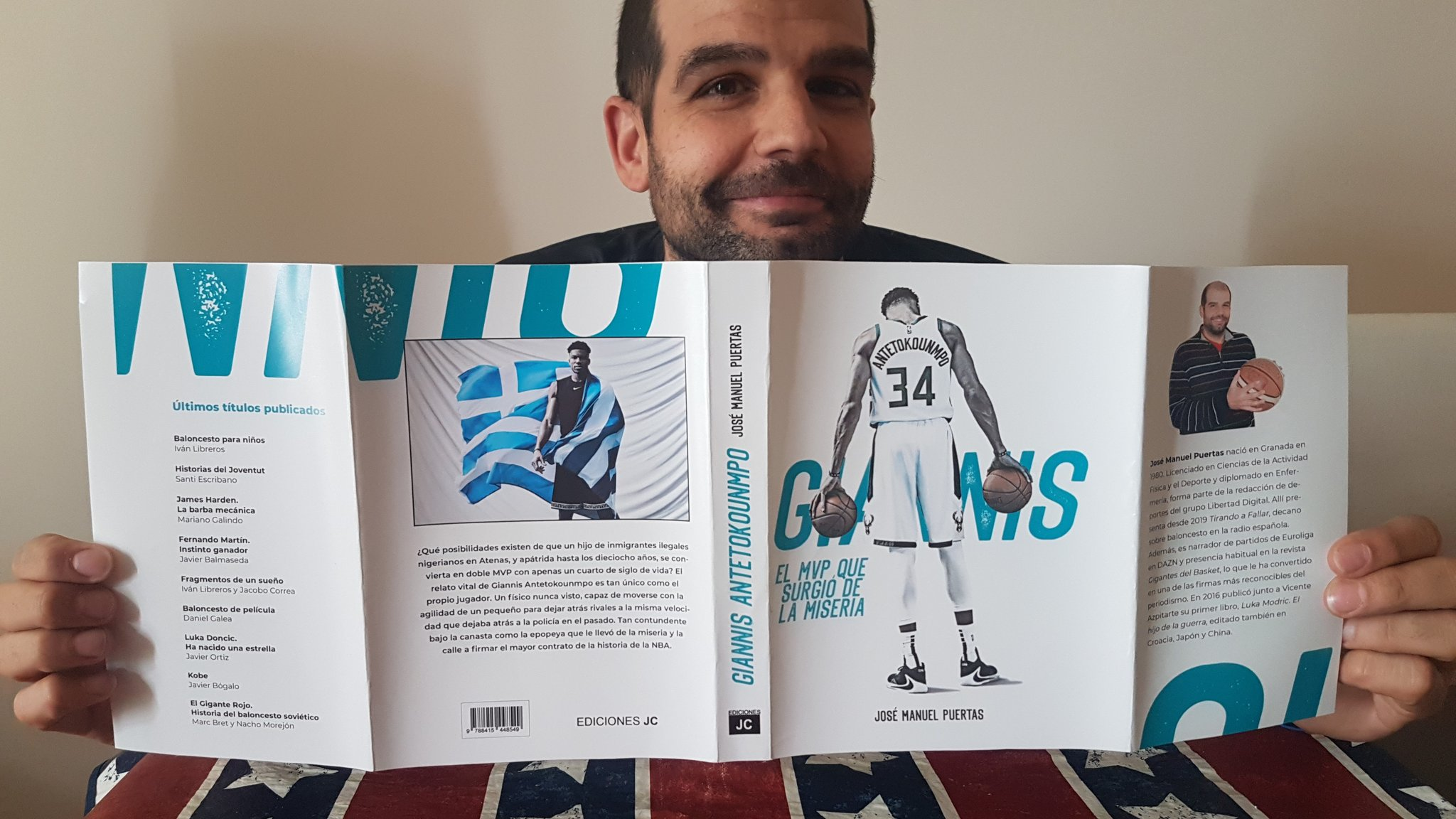 The first chapter of Antetokounmpo's book, complete and free